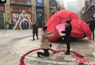Китаец подарил невесте 33-тонный метеорит вместо кольца с бриллиантом
