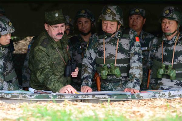 Российско-китайские военные учения «Мирная миссия-2013», Челябинская область.