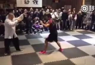 Боец MMA против мастера тайчи