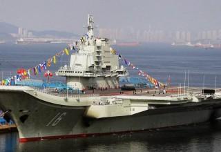 Китай построит шесть авианосцев и 10 баз под них по всему миру