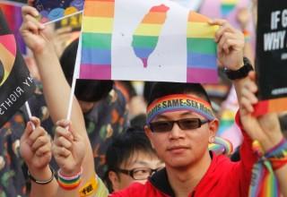 Тайвань первым в Азии узаконит однополые браки