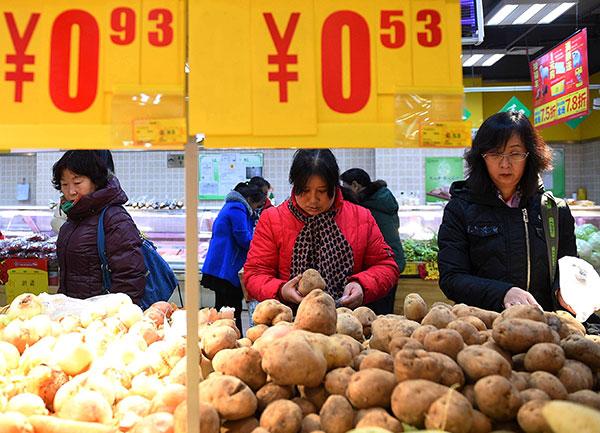 Картошка Китай