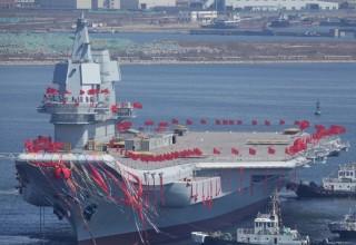 «Пипися» китайской разработки: в КНР выбирают имя для нового авианосца