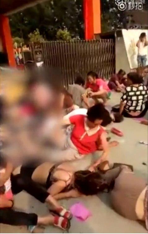 Взрыв детского садика в Китае