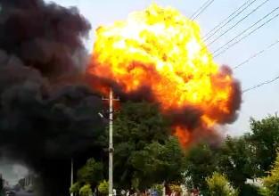 На севере Китая шесть человек погибли при взрыве на фабрике
