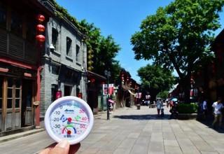 На севере Китая объявлен желтый уровень опасности из-за жары