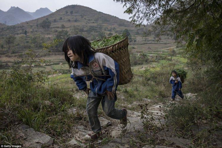 Брошенные дети Китая.