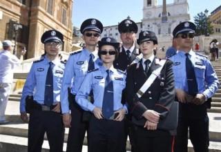 Китайская полиция начала патрулировать улицы Милана и Рима