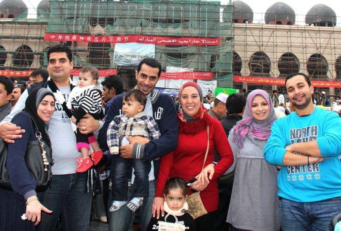 Мусульманский праздник в Иу. Фото: sina.com.cn