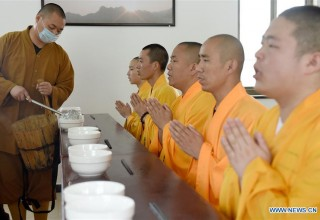 Буддийский колледж в провинции Аньхой (ФОТО)