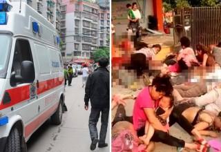 Названа причина взрыва у детского сада в Китае