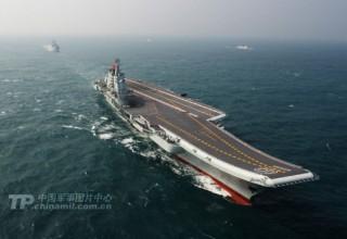 Китайский авианосец «Ляонин» отправился на учения