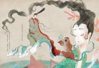 «Новая волна». Изящные иллюстрации молодой художницы заставили китайцев перечитать классику