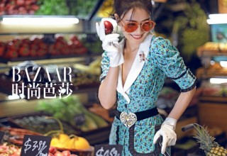 «Китайская богиня» Гао Юаньюань появится на обложке июльского Harper's Bazaar China