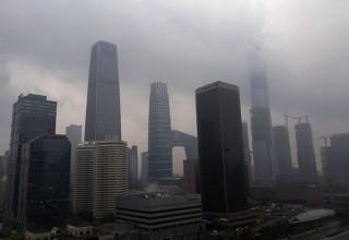 На севере Китая объявлено штормовое предупреждение