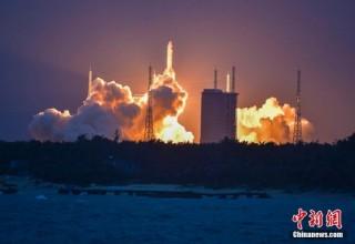Запуск ракеты-носителя «Чанчжэн-5» в Китае прошел неудачно