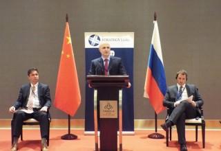 В Пекине прошел 3-й раунд ежегодного инвестиционного роуд-шоу проектов российских компаний и финансово-банковских институтов