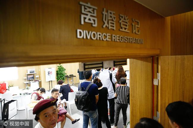 китай развод