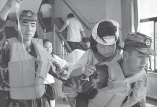 20 тыс. эвакуированы из-за наводнений на севере Китая