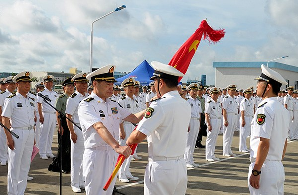 КНР  направил военных насоздание первой зарубежной базы