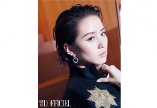 Популярная китайская актриса Сесилия Лю снялась для августовского номера L'Officiel