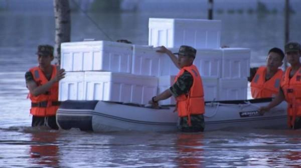 В КНР из-за наводнений эвакуировали 188 тыс. человек