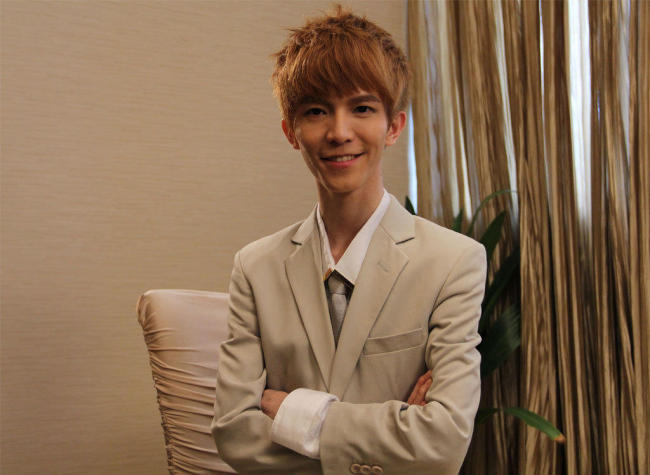 Молодой писатель Го Цзинмин. Фото: China Plus