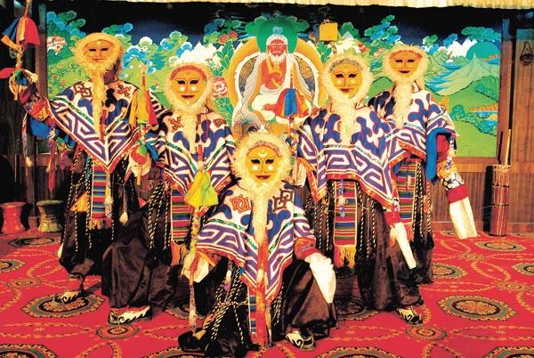 Тибетская опера. Фото: russian.people.com