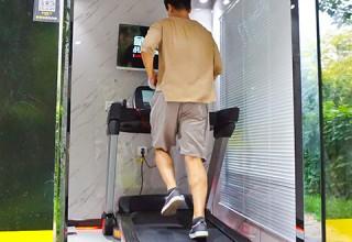 Фитнес в стиле мегаполиса: в Китае открываются спортзалы в виде мини-кабин