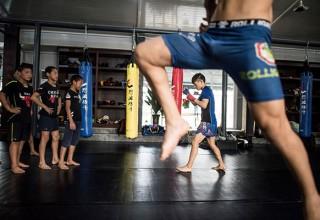 История китайского бойцовского клуба для детей