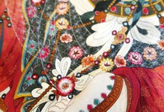 Буддийские мотивы: выставка полотен искусной работы мастеров из Сучжоу