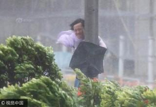 12 человек за сутки убил мощный тайфун в Китае