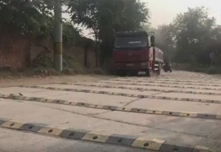 В Китае на 1 км дороги установили более 600 «лежачих полицейских»