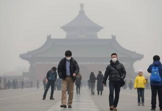 В Пекине запретили зимнее строительство из-за загрязнения воздуха