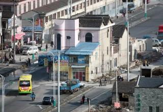 В Шанхае для строительства шоссе после 14-летних переговоров снесут дом-гвоздь