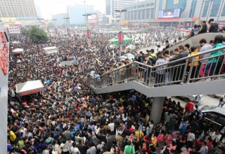Китайцы совершат 560 млн поездок во время «Золотой недели»