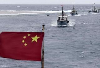 Китайские патрульные катера вошли в акваторию спорных с Японией островов