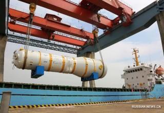 В Китае собрали первый парогенератор к ядерной электростанции