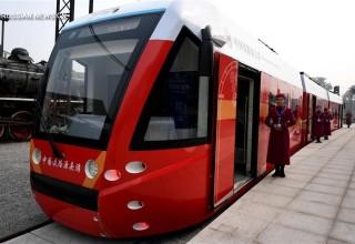 В Китае запустили первый в мире трамвай на водородном топливе