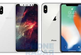 В Китае начнут продавать клон iPhone X