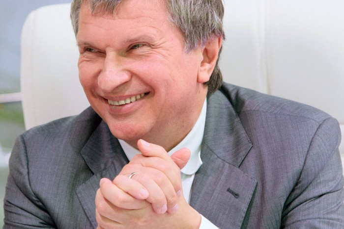 Главный исполнительный директор «Роснефти» Игорь Сечин. Фото: Ведомости