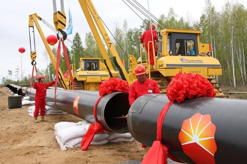 Китайская CNPC завершила строительство 2-ой нити нефтепровода Мохэ— Дацин