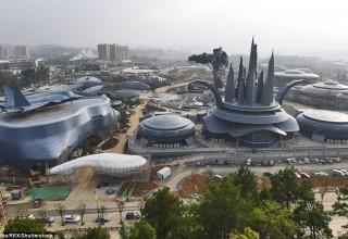 В Китае откроется  футуристический парк виртуальной реальности