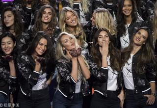 Модели Victoria's Secret прибыли в Шанхай
