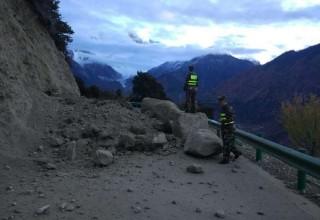 В Тибете в результате землетрясения пострадали 3 человека