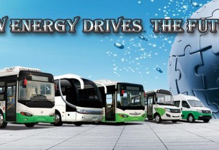 В Китае запустят электроавтобусы без водителей