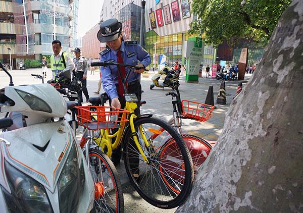 велошеринг Китай