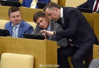 Наша служба и опасна, и трудна: в китайском интернете высмеяли российских депутатов
