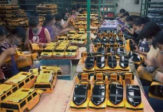 Китай борется с бедностью при помощи мастерских в деревнях