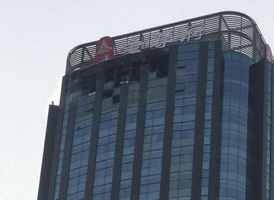 Шесть человек погибли впожаре ввысотке насевере Китая